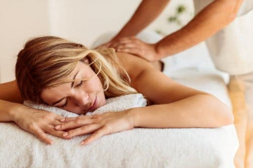 Massage om te ontspannen