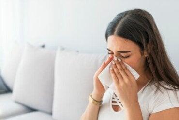 Verlichting van de sinussen