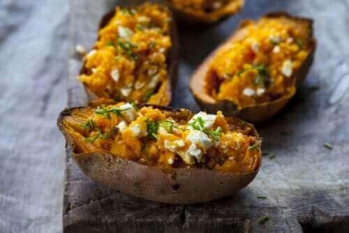 De eigenschappen en voordelen van zoete aardappelen