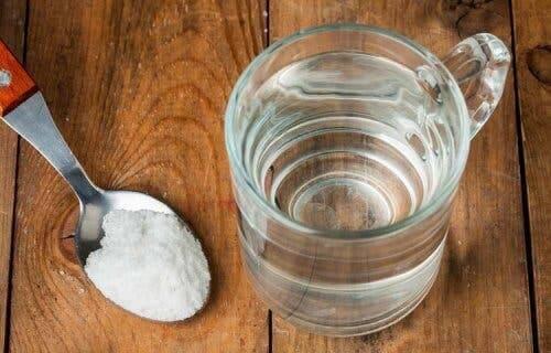 Ingrediënten voor een zoutoplossing
