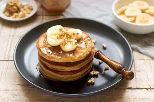 2 recepten voor eiwitpannenkoeken voor meer energie