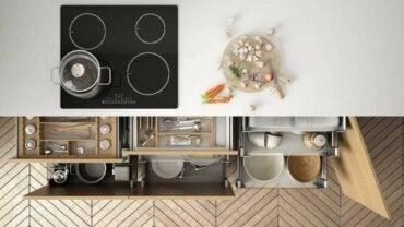 Ideeën om te helpen bij het organiseren van je keuken