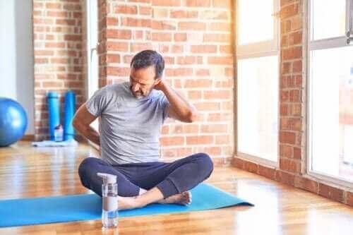 Oefeningen om te vermijden met een hernia