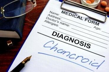 De symptomen en behandeling van sjanker