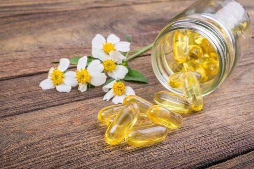 Capsules met vitamine e
