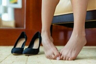 Hoe van stinkende voeten af te komen