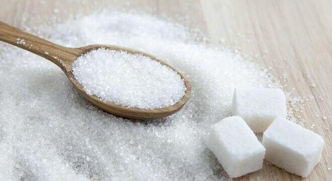 Dieet met veel suiker