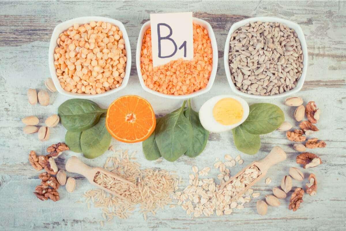 Bronnen van vitamine b1