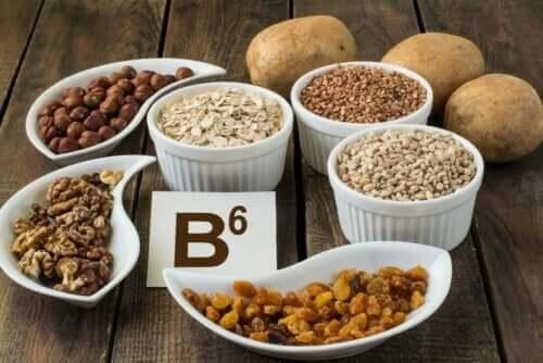 Bronnen van vitamine b