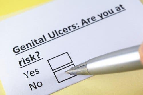 Vraag over of iemand risico op zweren loopt