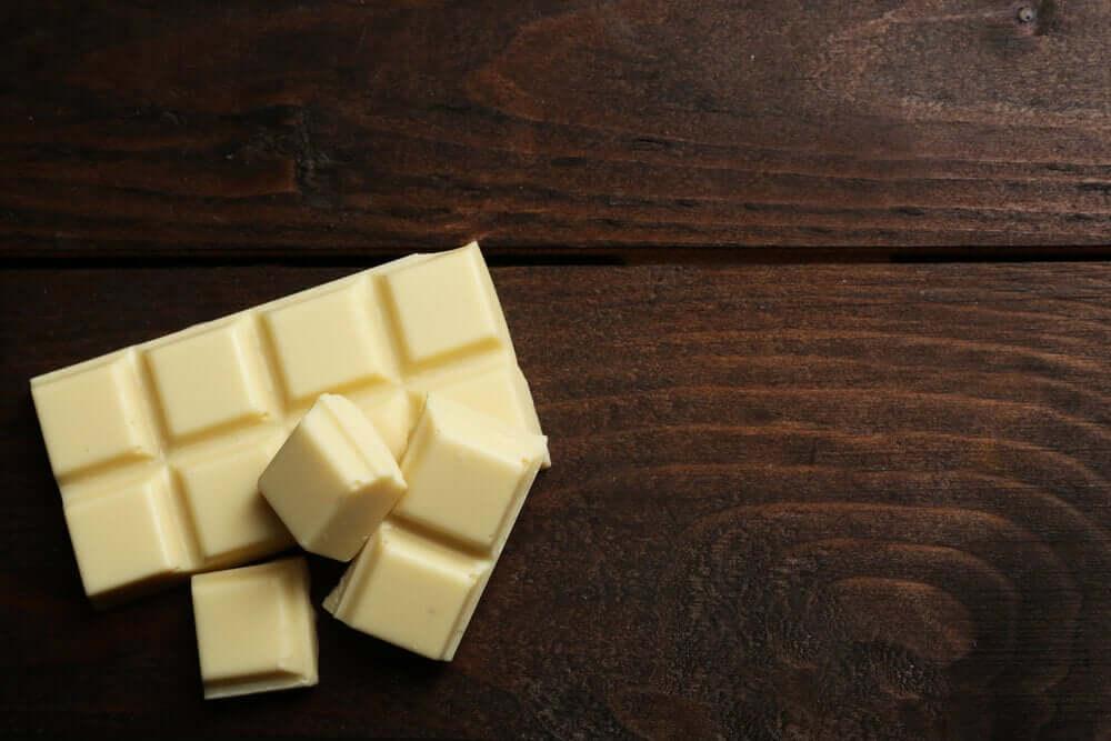 Reep witte chocola