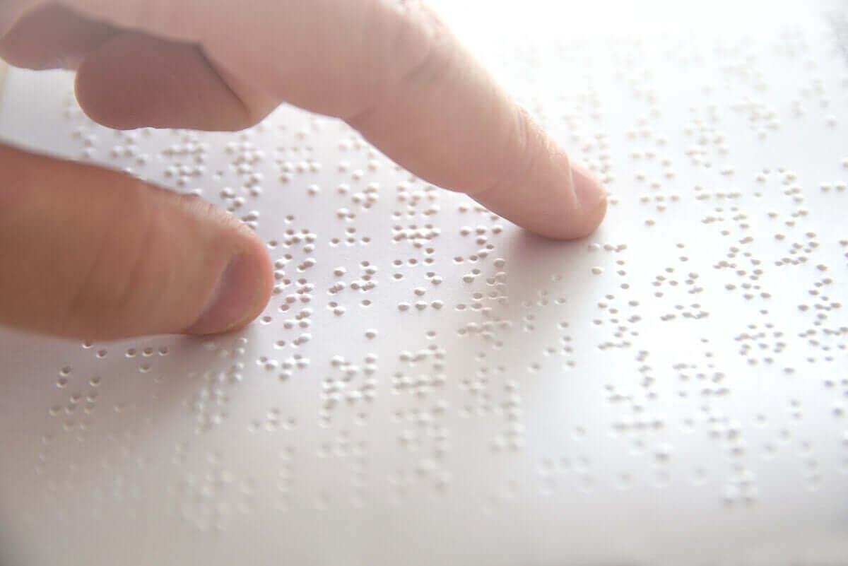 Braille is een hulpmiddel voor blinde mensen