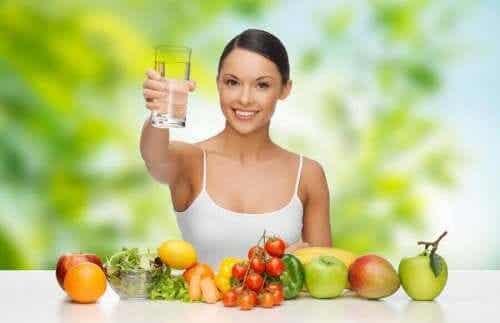 Een dieet tegen uitdroging: wat je moet overwegen
