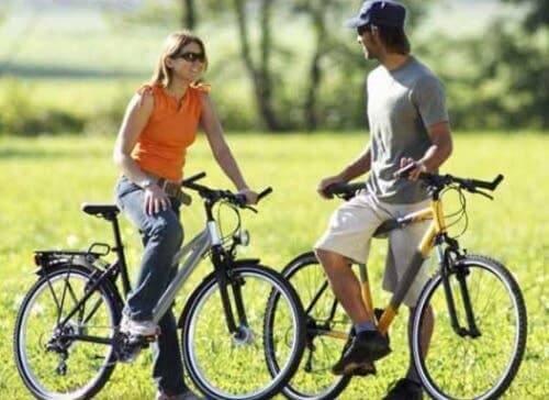 Fietsen is goed voor mensen met hoge bloeddruk