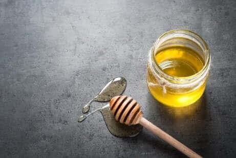 Honingsiroop met citroen