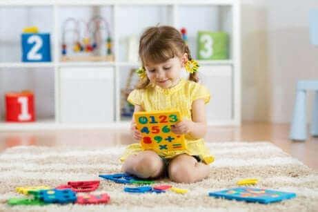 Kinderen met autisme vinden vaak getallen interessant