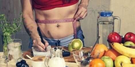Bijhouden van gewichtsverlies