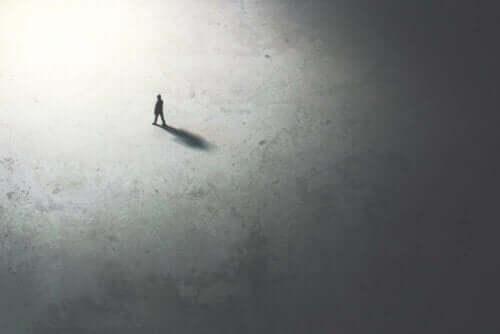 Eenzaam mens