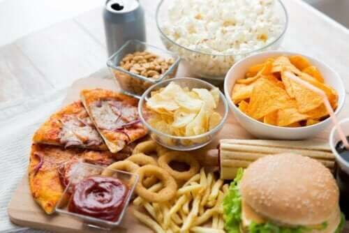 Ongezonde voedingsmiddelen
