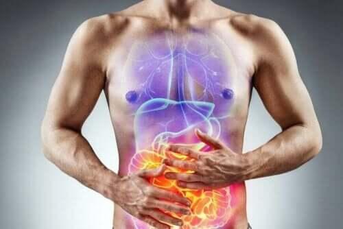 Man met prikkelbare darmsyndroom