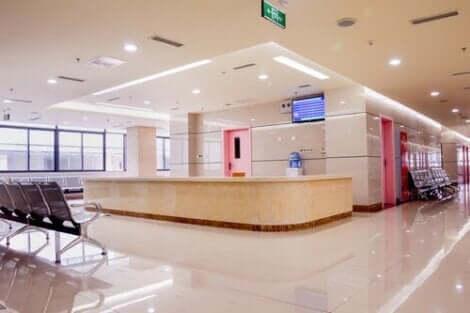 Wachtruimte in een ziekenhuis
