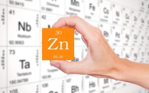 Zn uit het periodiek systeem