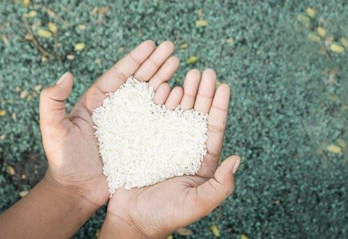 Bruine rijst is gezond