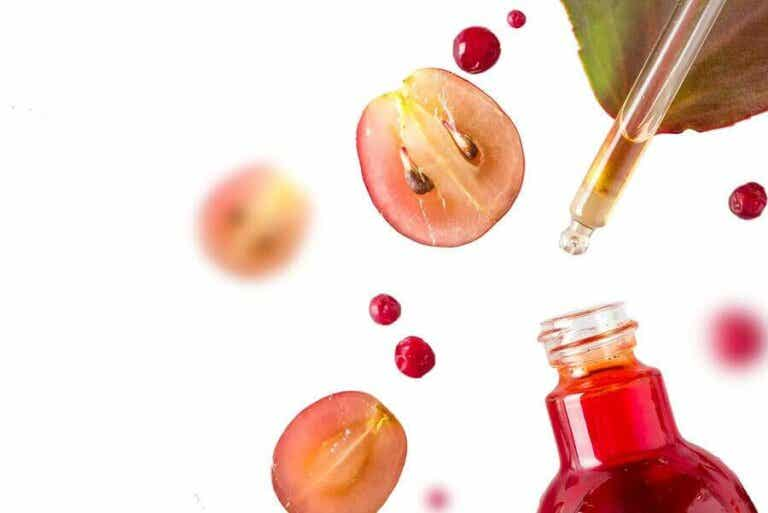 Hoe gebruik je druiven om je huid te verjongen?