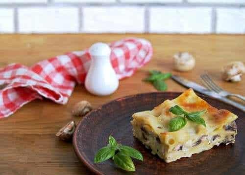 Hoe veganistische lasagne te maken: 2 recepten
