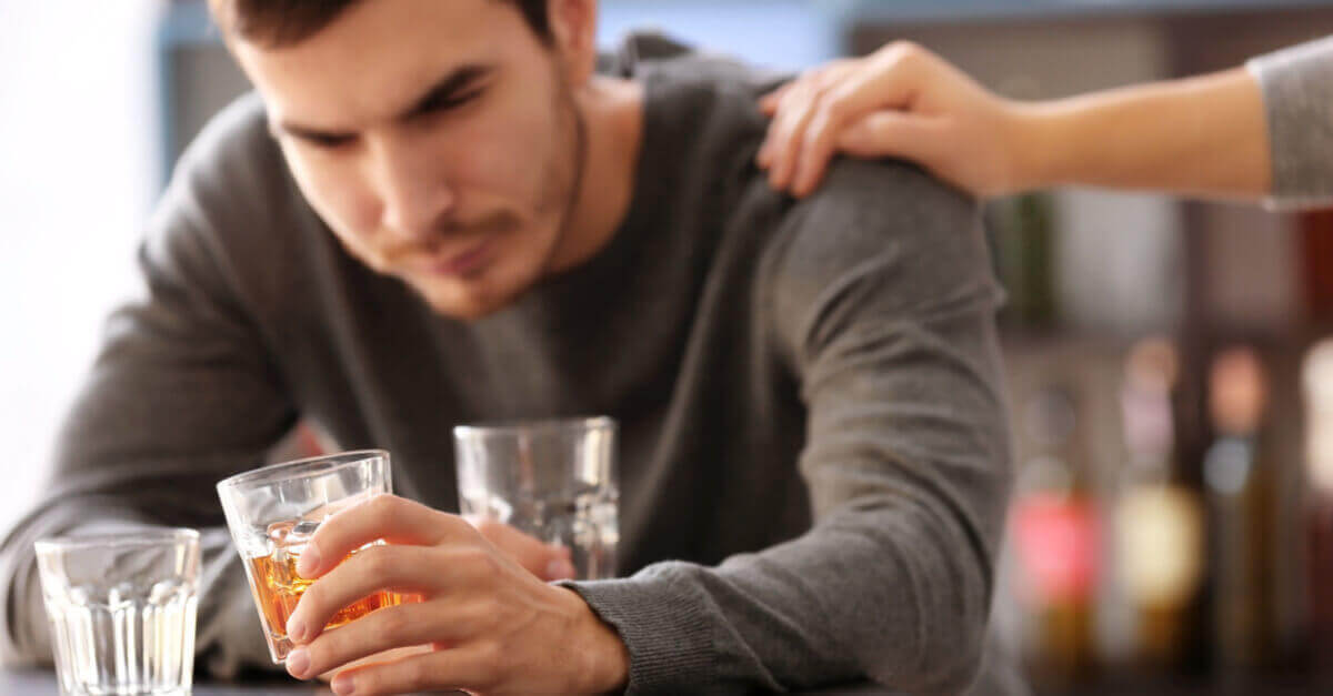 Alcoholist krijgt steun van partner