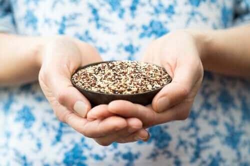 Schaaltje quinoa