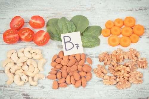 Verschillende voedingsmiddelen