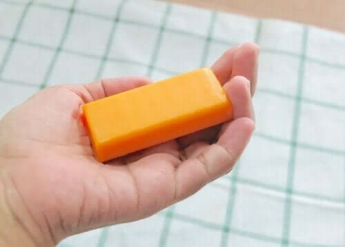 Check eerst of je geen allergische reactie krijgt van de zeep