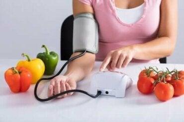 Verboden voedingsmiddelen bij bloeddrukproblemen
