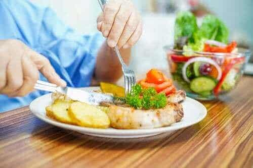 Dieetbeperkingen voor mensen met neutropenie