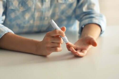 Bloedtest met de vinger
