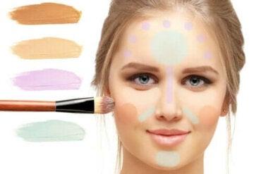 Het doel van kleurcorrigerende make-up