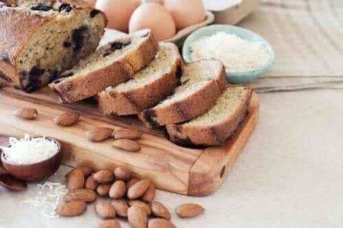 Hoe maak je heerlijk kokos- en amandelbrood?