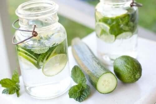 Komkommerwater is ook lekker