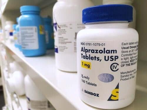 Gebruik alprazolam alleen onder begeleiding