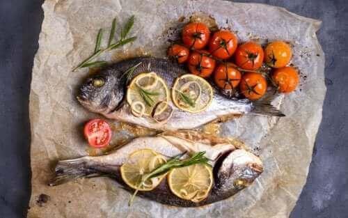Verschillende soorten visvergiftiging