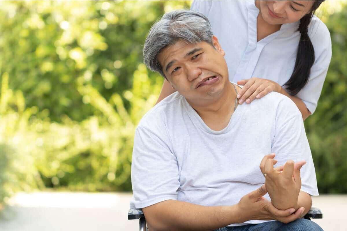 Man krijgt therapie na beroerte