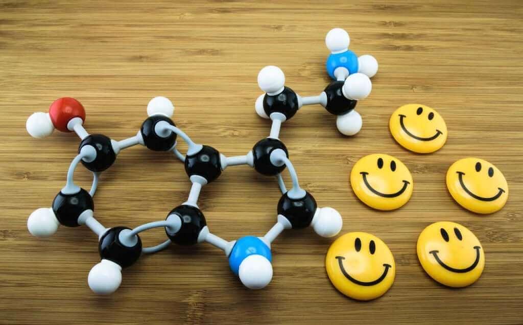 Smileys en serotinine