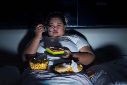 Wat is hyperfagie of overmatige eetlust?
