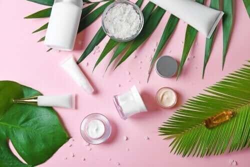 Cosmetica bevat ook plantaardige ingrediënten