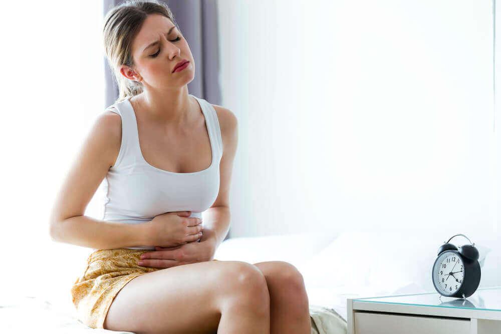 Hypermenorroe en de symptomen