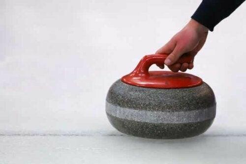 Een curlingsteen