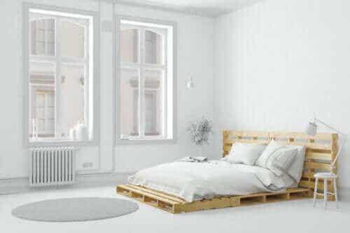 Zes manieren om een slaapkamer te vereenvoudigen