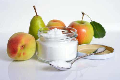 Suiker en fruit
