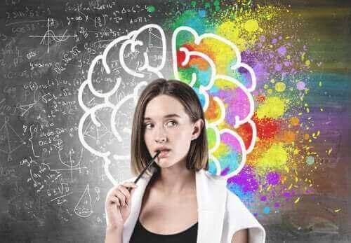 Het verschil tussen de hersenen en de geest